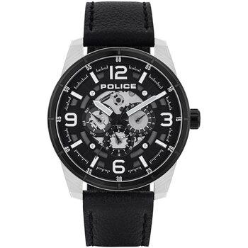 Ceasuri & Bijuterii Bărbați Ceasuri Analogice Police PL15663JSTB.02, Quartz, 48mm, 3ATM Argintiu