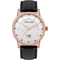 Ceasuri & Bijuterii Bărbați Ceasuri Analogice Police PL15404JSR.04, Quartz, 46mm, 5ATM Auriu