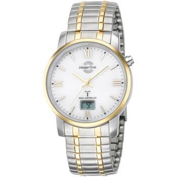 Ceasuri & Bijuterii Bărbați Ceasuri Analogice Master Time MTGA-10310-13M, Quartz, 41mm, 3ATM Argintiu