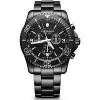 Ceasuri & Bijuterii Bărbați Ceasuri Analogice Victorinox 241797, Quartz, 43mm, 10ATM Negru