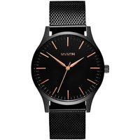 Ceasuri & Bijuterii Bărbați Ceasuri Analogice Mvmt MT01-BBRG, Quartz, 40mm, 3ATM Negru