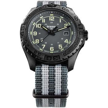 Ceasuri & Bijuterii Bărbați Ceasuri Analogice Traser H3 109037, Quartz, 44mm, 20ATM Negru