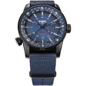 Ceasuri & Bijuterii Bărbați Ceasuri Analogice Traser H3 109034, Quartz, 46mm, 10ATM Negru