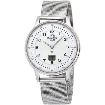 Ceasuri & Bijuterii Bărbați Ceasuri Analogice Master Time MTGS-10655-60M, Quartz, 42mm, 5ATM Argintiu