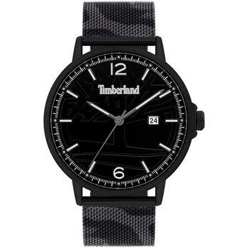 Ceasuri & Bijuterii Bărbați Ceasuri Analogice Timberland TBL15954JYB.02MM, Quartz, 45mm, 3ATM Negru