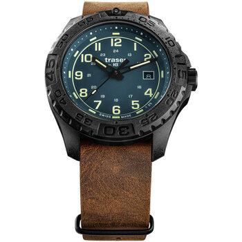 Ceasuri & Bijuterii Bărbați Ceasuri Analogice Traser H3 109040, Quartz, 44mm, 20ATM Negru