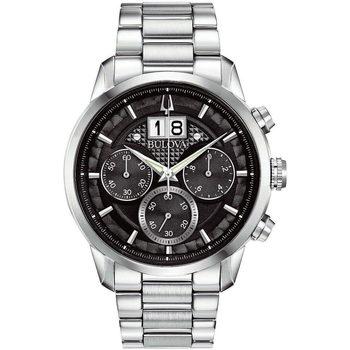 Ceasuri & Bijuterii Bărbați Ceasuri Analogice Bulova 96B319, Quartz, 44mm, 3ATM Argintiu