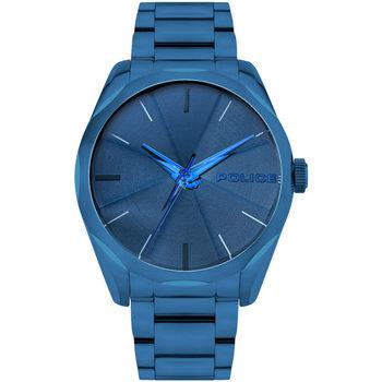 Ceasuri & Bijuterii Bărbați Ceasuri Analogice Police PL15712JSBL.03M, Quartz, 44mm, 3ATM albastru