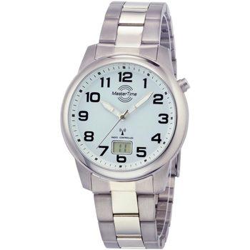 Ceasuri & Bijuterii Bărbați Ceasuri Analogice Master Time MTGT-10653-40M, Quartz, 41mm, 5ATM Argintiu