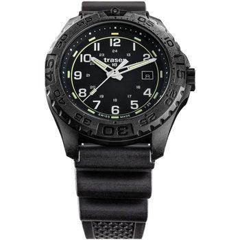 Ceasuri & Bijuterii Bărbați Ceasuri Analogice Traser H3 108672, Quartz, 44mm, 20ATM Negru