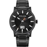 Ceasuri & Bijuterii Bărbați Ceasuri Analogice Police PL15404JSB.02M, Quartz, 42mm, 3ATM Negru