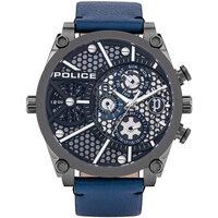 Ceasuri & Bijuterii Bărbați Ceasuri Analogice Police PL15381JSU.61B, Quartz, 51mm, 3ATM Negru