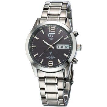 Ceasuri & Bijuterii Bărbați Ceasuri Analogice Ett Eco Tech Time EGS-11247-22M, Quartz, 40mm, 10ATM Argintiu