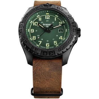Ceasuri & Bijuterii Bărbați Ceasuri Analogice Traser H3 109038, Quartz, 44mm, 20ATM Negru