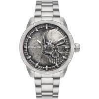 Ceasuri & Bijuterii Bărbați Ceasuri Analogice Police PL15715JS.78M, Quartz, 46mm, 3ATM Argintiu