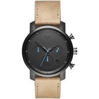 Ceasuri & Bijuterii Bărbați Ceasuri Analogice Mvmt MC02-GML, Quartz, 40mm, 5ATM Negru