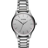 Ceasuri & Bijuterii Bărbați Ceasuri Analogice Mvmt MT01-S, Quartz, 40mm, 3ATM Argintiu