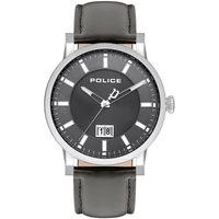 Ceasuri & Bijuterii Bărbați Ceasuri Analogice Police PL15404JS.13, Quartz, 42mm, 3ATM Argintiu