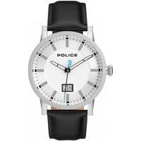 Ceasuri & Bijuterii Bărbați Ceasuri Analogice Police PL15404JS.01, Quartz, 43mm, 5ATM Argintiu