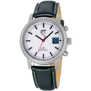 Ceasuri & Bijuterii Bărbați Ceasuri Analogice Ett Eco Tech Time EGS-11185-11L, Quartz, 40mm, 5ATM Argintiu