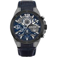 Ceasuri & Bijuterii Bărbați Ceasuri Analogice Police PL15711JSUB.03, Quartz, 47mm, 3ATM Negru