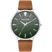 Ceasuri & Bijuterii Bărbați Ceasuri Analogice Police PL16023JS.13, Quartz, 42mm, 5ATM Argintiu