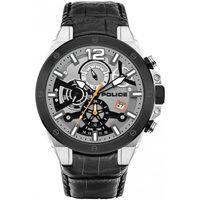Ceasuri & Bijuterii Bărbați Ceasuri Analogice Police PL15711JSTB.04, Quartz, 47mm, 5ATM Argintiu