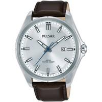 Ceasuri & Bijuterii Bărbați Ceasuri Analogice Pulsar PS9553X1, Quartz, 44mm, 10ATM Argintiu