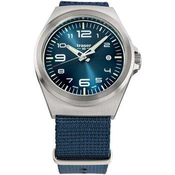 Ceasuri & Bijuterii Bărbați Ceasuri Analogice Traser H3 108216, Quartz, 42mm, 10ATM Argintiu