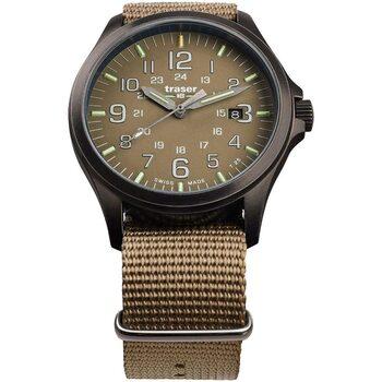 Ceasuri & Bijuterii Bărbați Ceasuri Analogice Traser H3 108631, Quartz, 42mm, 10ATM Bej