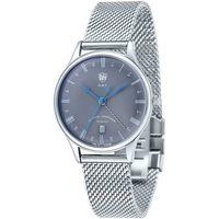 Ceasuri & Bijuterii Bărbați Ceasuri Analogice Dufa DF-9006-11, Quartz, 38mm, 3ATM Argintiu