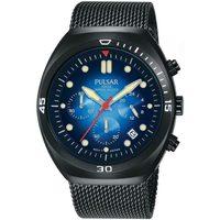 Ceasuri & Bijuterii Bărbați Ceasuri Analogice Pulsar PT3951X2, Quartz, 42mm, 10ATM Negru