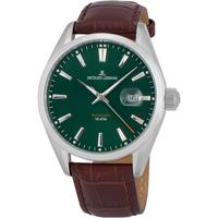 Ceasuri & Bijuterii Bărbați Ceasuri Analogice Jacques Lemans 1-1846C, Automatic, 42mm, 10ATM Argintiu