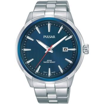 Ceasuri & Bijuterii Bărbați Ceasuri Analogice Pulsar PS9583X1, Quartz, 43mm, 10ATM Argintiu