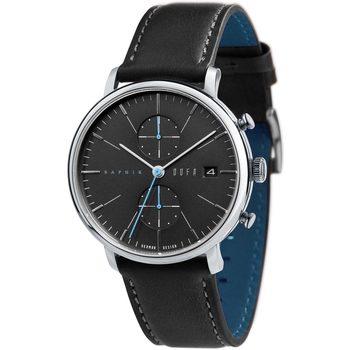 Ceasuri & Bijuterii Bărbați Ceasuri Analogice Dufa DF-9027-04, Quartz, 40mm, 3ATM Argintiu