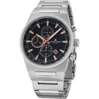 Ceasuri & Bijuterii Bărbați Ceasuri Analogice Jacques Lemans 1-1734A, Quartz, 43mm, 10ATM Argintiu