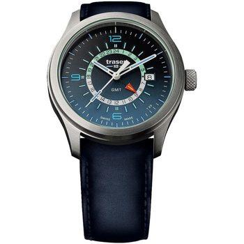 Ceasuri & Bijuterii Bărbați Ceasuri Analogice Traser H3 107035, Quartz, 42mm, 10ATM Argintiu