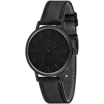 Ceasuri & Bijuterii Bărbați Ceasuri Analogice Dufa DF-9001-0S, Quartz, 38mm, 3ATM Negru