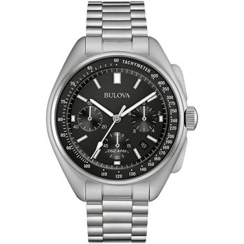 Ceasuri & Bijuterii Bărbați Ceasuri Analogice Bulova 96B258, Quartz, 45mm, 5ATM Argintiu