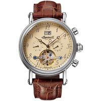 Ceasuri & Bijuterii Bărbați Ceasuri Analogice Ingersoll IN1800CR, Automatic, 42mm, 3ATM Argintiu