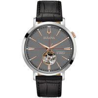 Ceasuri & Bijuterii Bărbați Ceasuri Analogice Bulova 98A187, Automatic, 42mm, 3ATM Argintiu