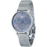 Ceasuri & Bijuterii Bărbați Ceasuri Analogice Dufa DF-9002-11, Quartz, 38mm, 3ATM Argintiu