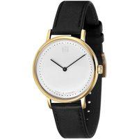 Ceasuri & Bijuterii Bărbați Ceasuri Analogice Dufa DF-9020-03, Quartz, 38mm, 3ATM Auriu