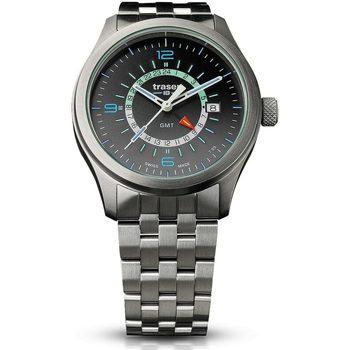 Ceasuri & Bijuterii Bărbați Ceasuri Analogice Traser H3 107232, Quartz, 42mm, 10ATM Argintiu