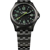 Ceasuri & Bijuterii Bărbați Ceasuri Analogice Traser H3 107869, Quartz, 42mm, 10ATM Negru