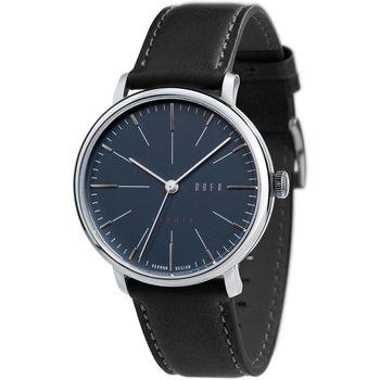 Ceasuri & Bijuterii Bărbați Ceasuri Analogice Dufa DF-9029-03, Quartz, 40mm, 3ATM Argintiu