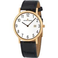 Ceasuri & Bijuterii Bărbați Ceasuri Analogice Jacques Lemans 1-1848D, Quartz, 39mm, 5ATM Auriu