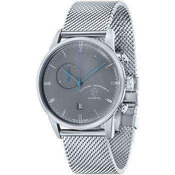 Ceasuri & Bijuterii Bărbați Ceasuri Analogice Dufa DF-9007-11, Quartz, 41mm, 3ATM Argintiu