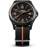 Ceasuri & Bijuterii Bărbați Ceasuri Analogice Traser H3 107425, Quartz, 42mm, 10ATM Negru