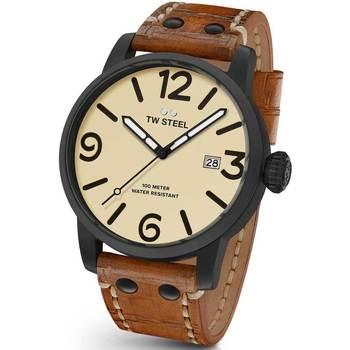 Ceasuri & Bijuterii Bărbați Ceasuri Analogice Tw-Steel MS42, Quartz, 48mm, 10ATM Negru